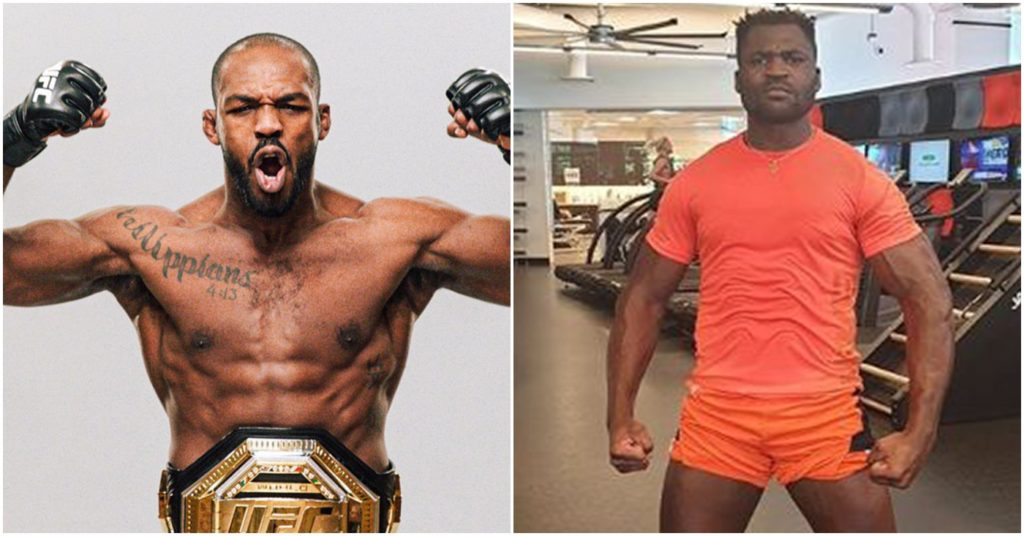 Jon Jones 'Sad' UFC Doesn't See Value In Francis Ngannou Super Fight