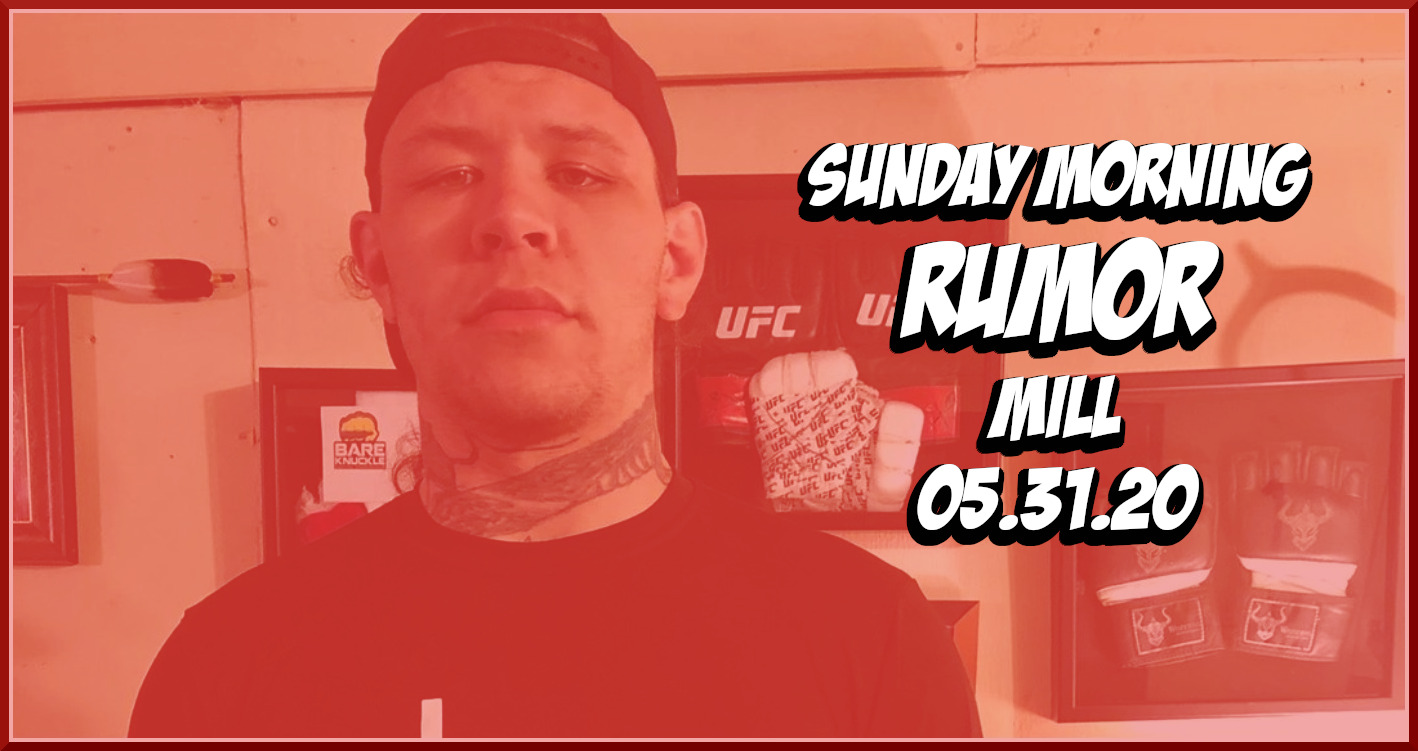Broc Weaver Dog Fights, Jacare's Positive Test & More on the Sunday Morning Rumor Mill