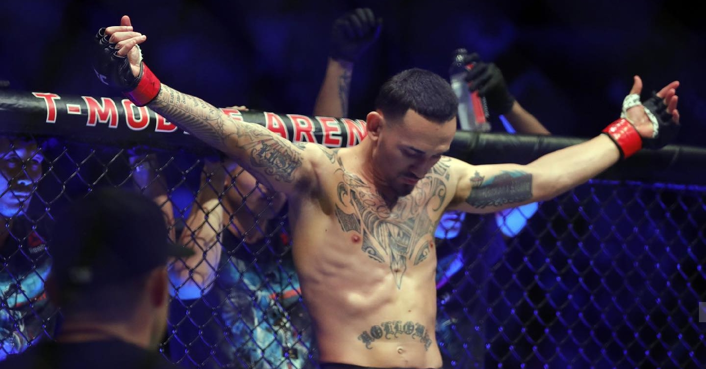 Max Holloway Giving Private Training, Signed Gloves, And Dinner In Exchange For Food Bank Donations