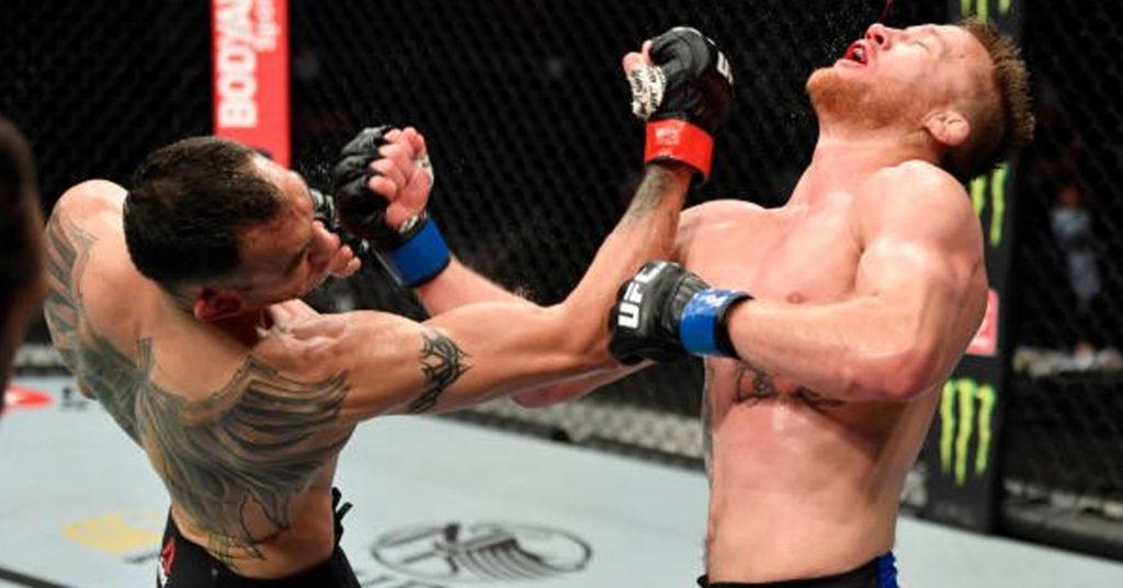 Tony Ferguson Suffers An Orbital Fracture In TKO Loss To Justin Gaethje