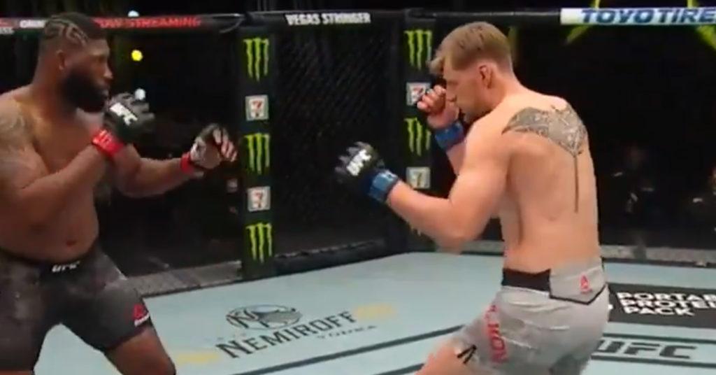 UFC on ESPN 11 Results: Curtis Blaydes Dominates Volkov On The Ground & Wins By UD