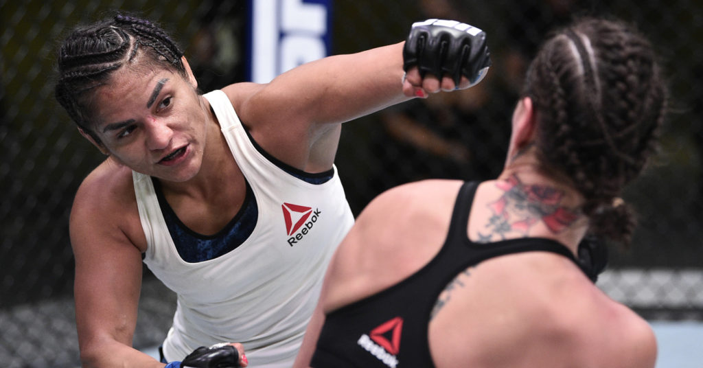 UFC on ESPN 10 Results: Cynthia Calvillo Beats Jessica Eye By UD (Highlights)