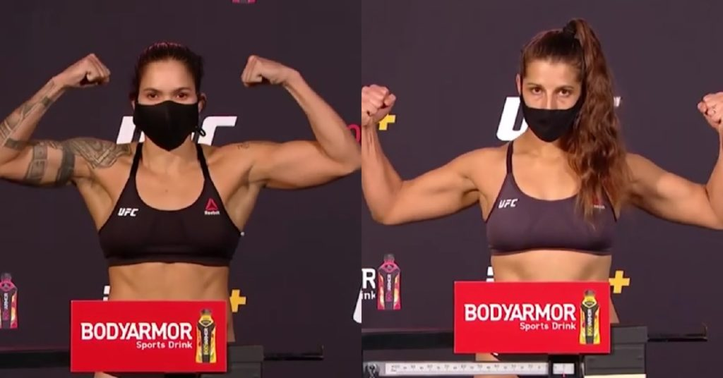UFC 250 Weigh In Results: Amanda Nunes, Felicia Spencer On Point For Title Fight