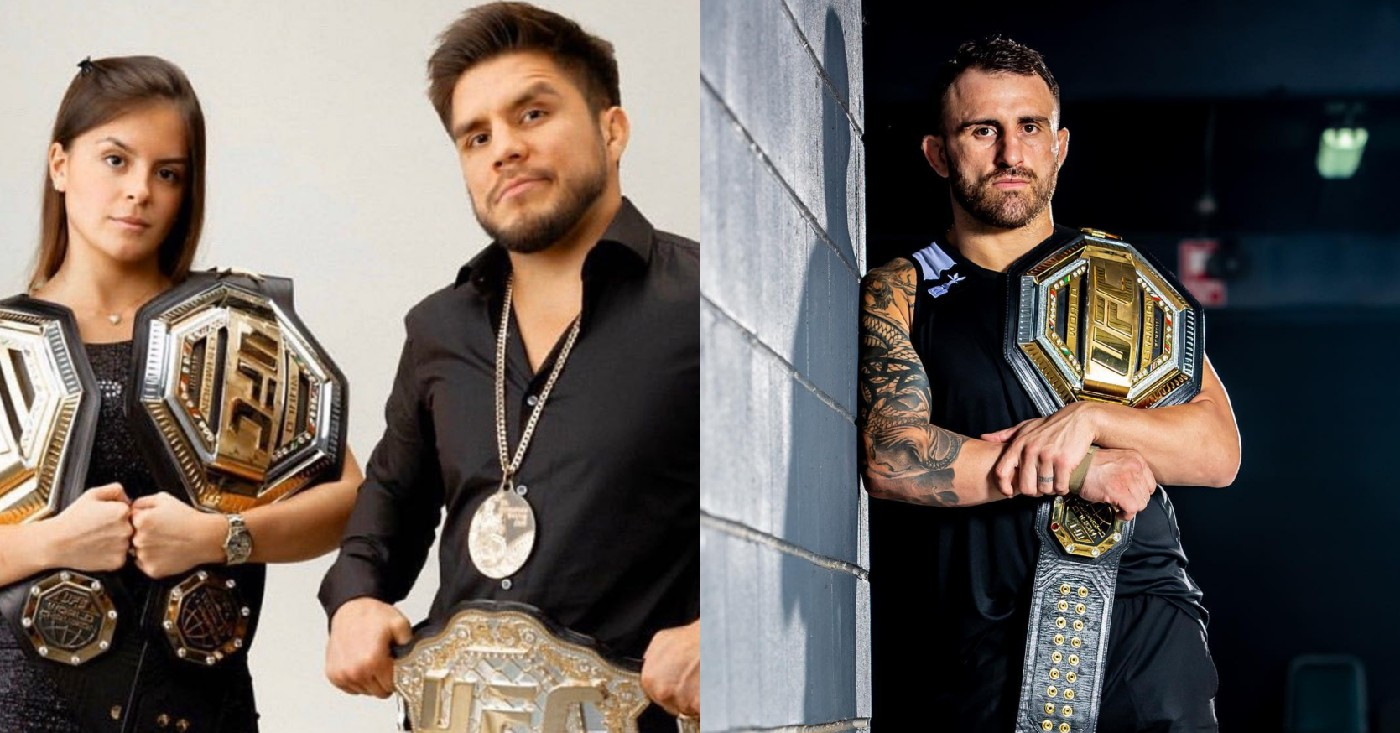 Henry Cejudo Willing To Put Up His Girlfriend In Bet That He Can Beat 'Overgrown Midget' Alexander Volkanovski In Two Rounds