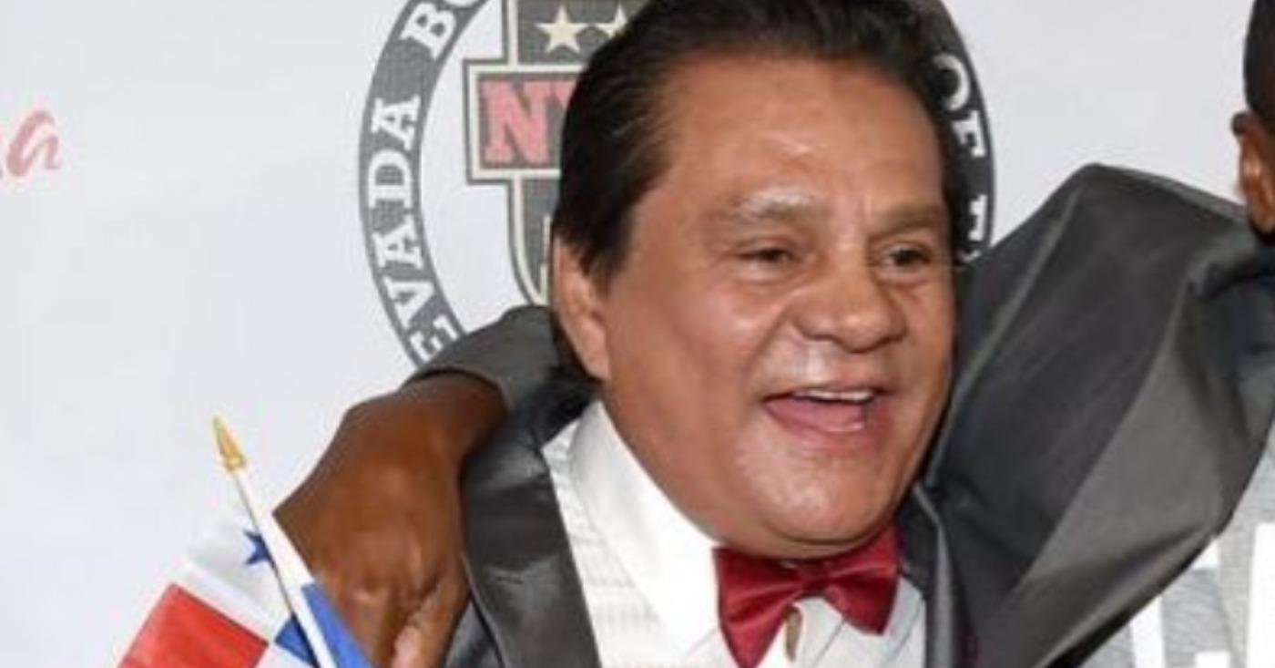 Legendary Boxer, Roberto Duran Hospitalized After Testing Positive For Coronavirus