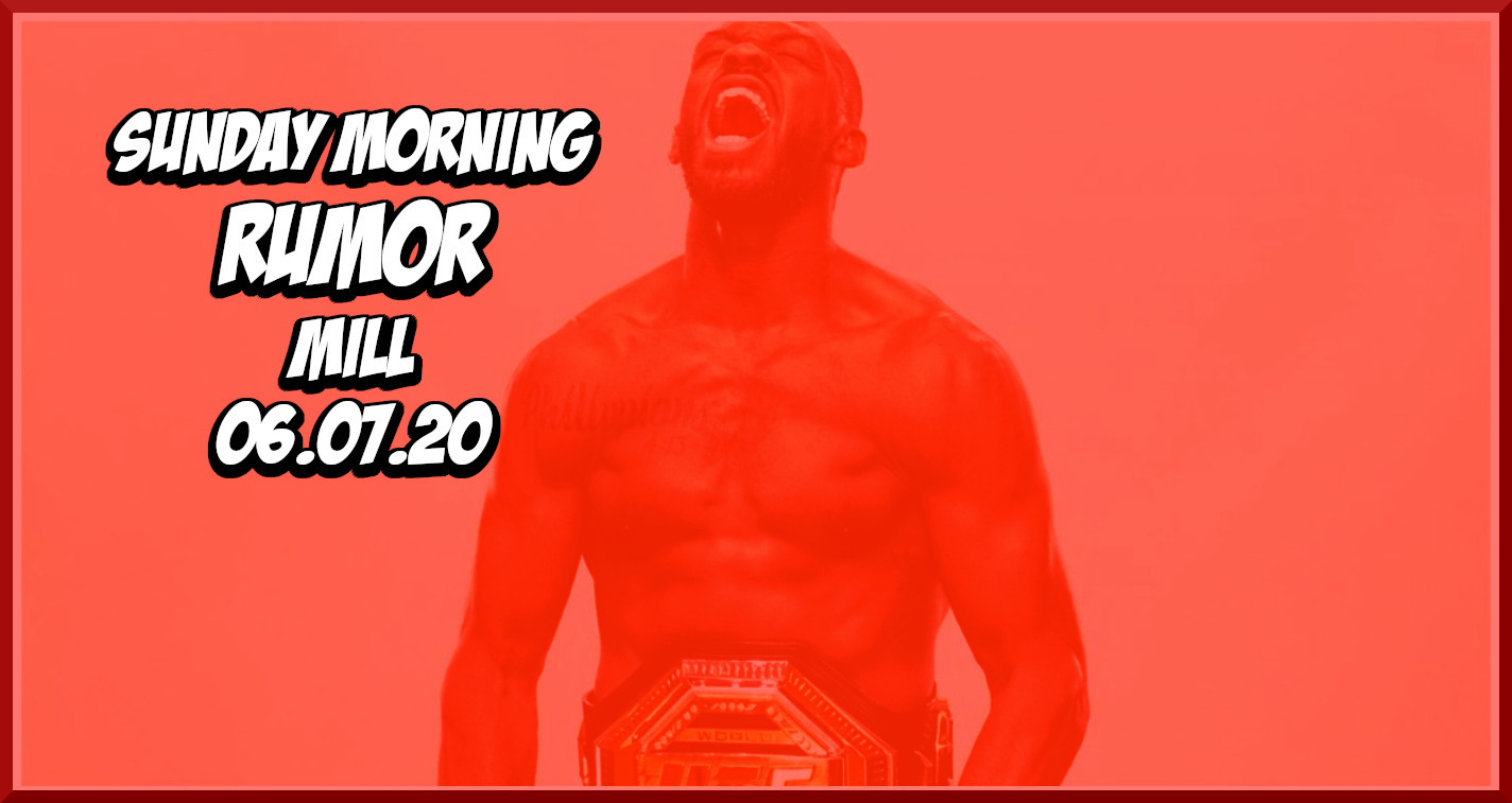 UFC Welterweight Title Picture, Jon Jones to KSW? & More on the Sunday Morning Rumor Mill