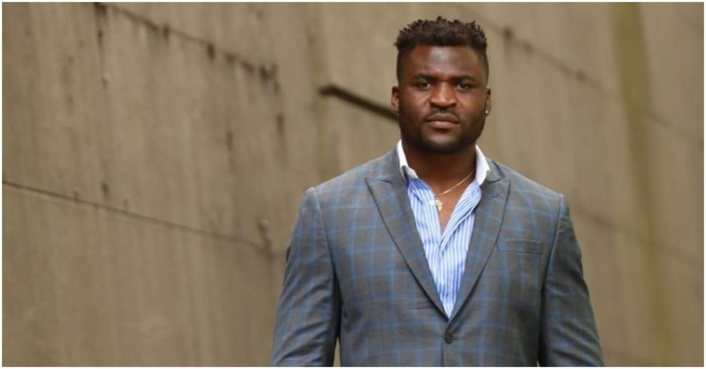 Francis Ngannou Harkens Back on POWERFUL Origin Story Involving 2 Month Jail Period