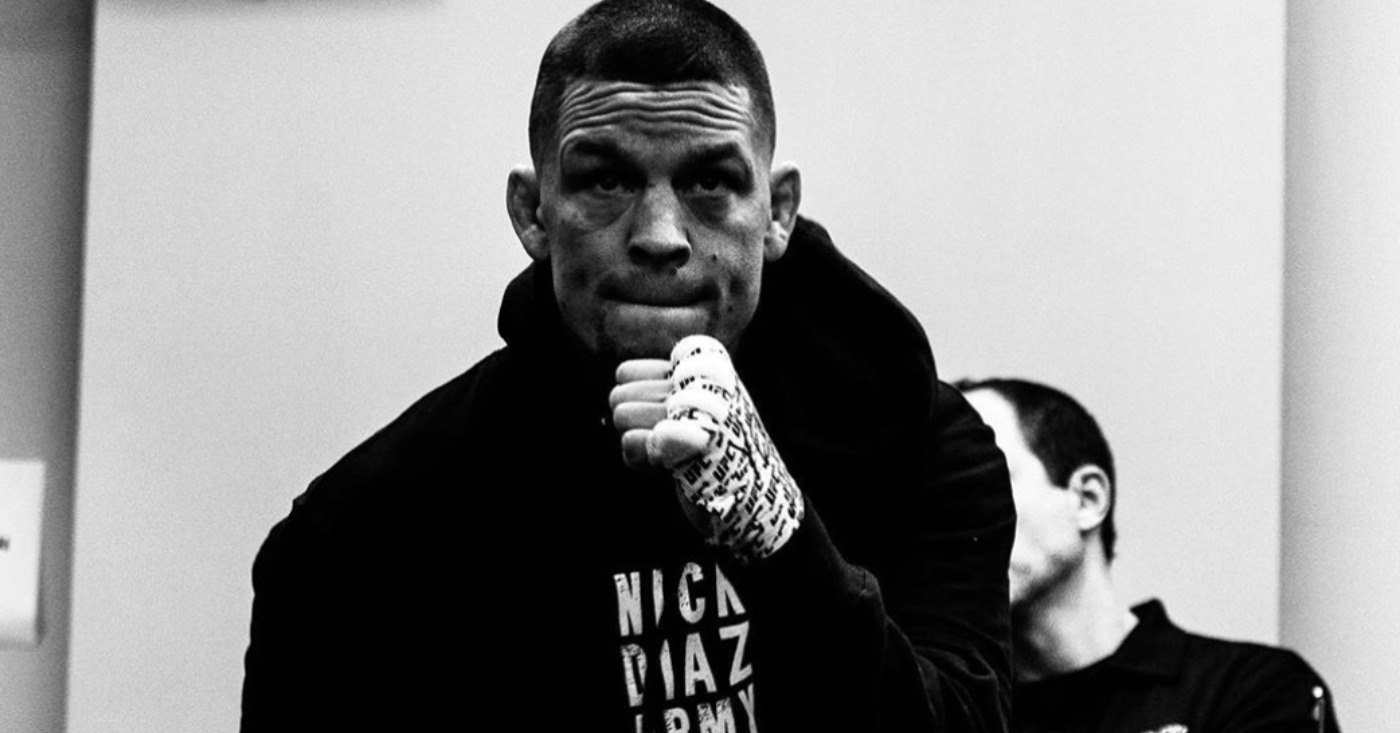"""Nate Diaz on Fighting Dustin Poirier: """"F–k a Weight Class"""" After Poirier's Video"""