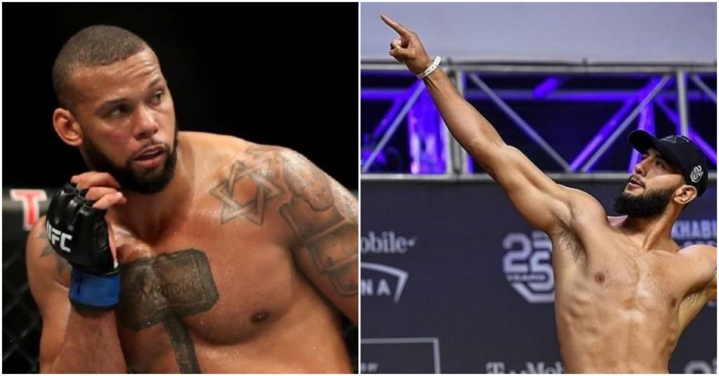 Thiago Santos Wants Dominick Reyes for Light Heavyweight Title if Jones Vacates