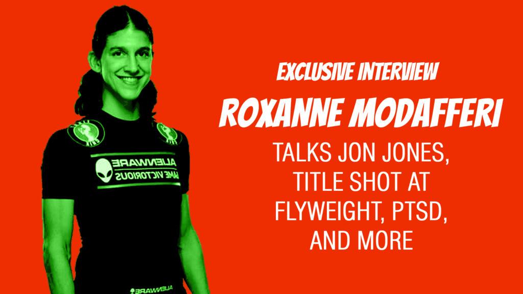 Roxanne Modafferi Is 'Not A Fan' Of Jon Jones, Does Not Consider Him GOAT (EXCLUSIVE)