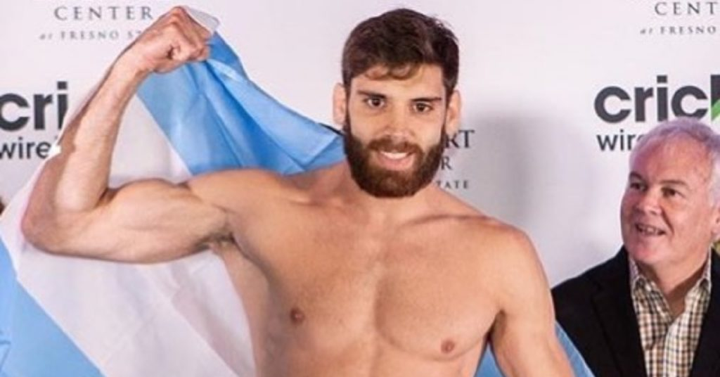 Combate Americas Champ Bruno Cannetti Shot In The Chest During Robbery