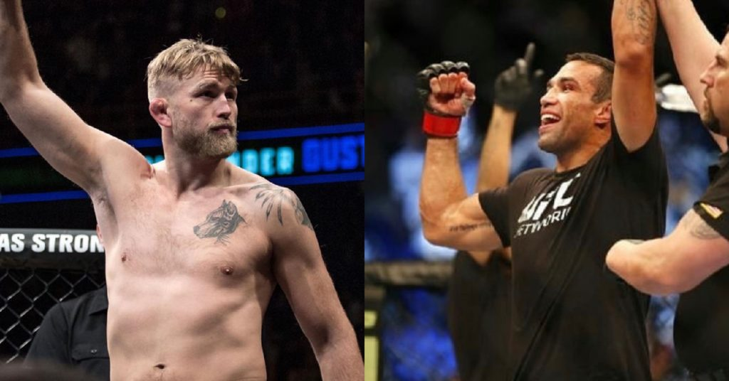 Alexander Gustafsson Says He Beat Fabricio Werdum Badly In Training: 'I Broke His Nose'