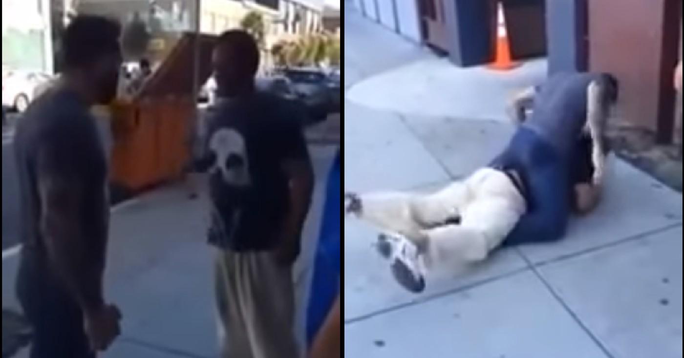 Street MMA: BJJ Black Belt Smashes Man Harassing Women On The Streets (VIDEO)