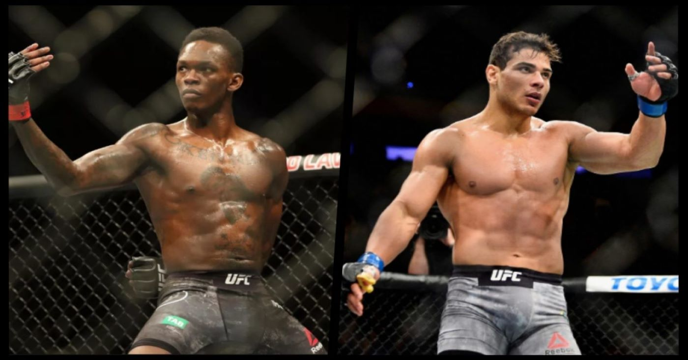 Paulo Costa vs Israel Adesanya Is Set For UFC 253, Costa Promises To 'Bring The Show'