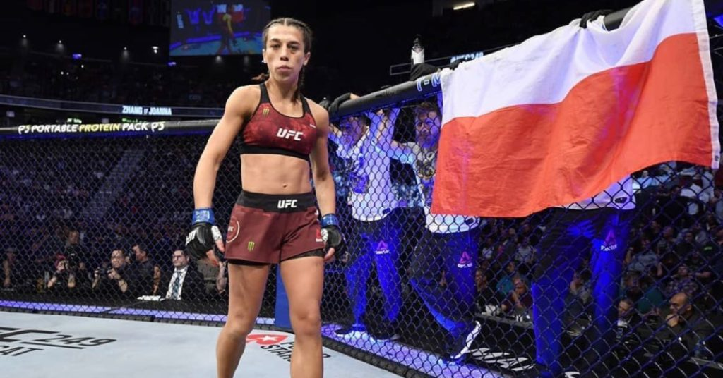 Wait…Did Joanna Jedrzejczyk Just Say She Was '33 And Retired'??