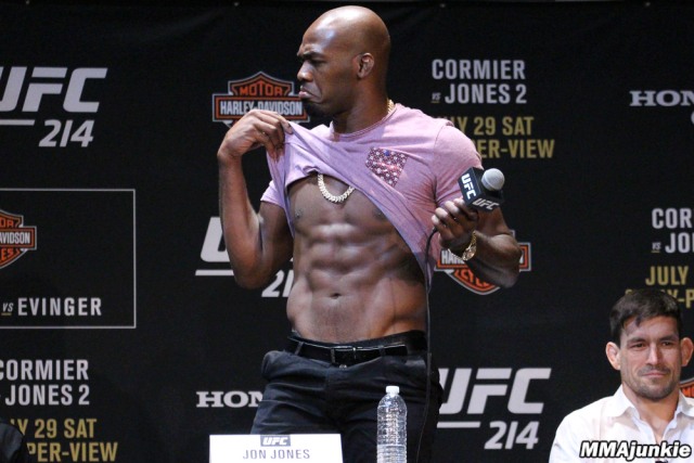 Jon Jones Abs