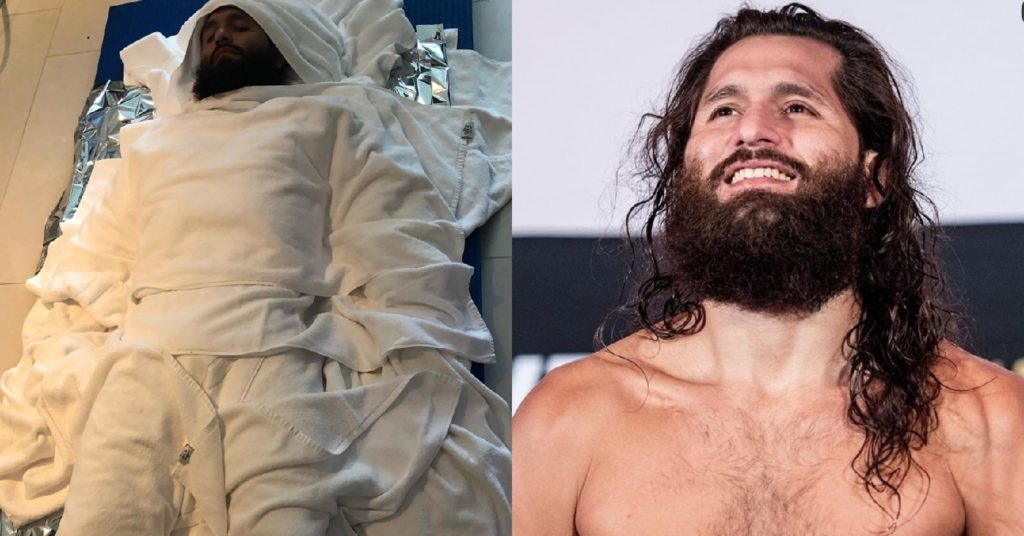 Jorge Masvidal Looks Like A Mummy During 'Rough' 20lb Weight Cut For UFC 251