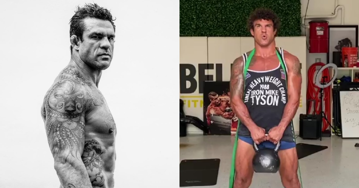 Vitor Belfort Looks Bricked Up Ahead Of ONE Championships Debut