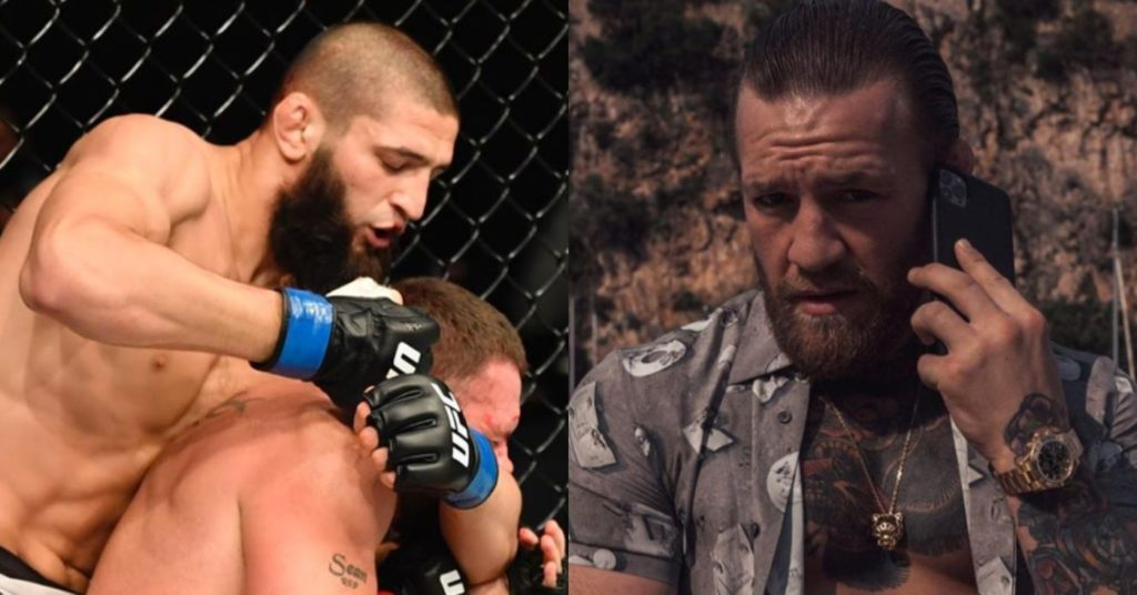 Khamzat Chimaev Claps Back At 'Chicken Heart' Conor McGregor After Insult