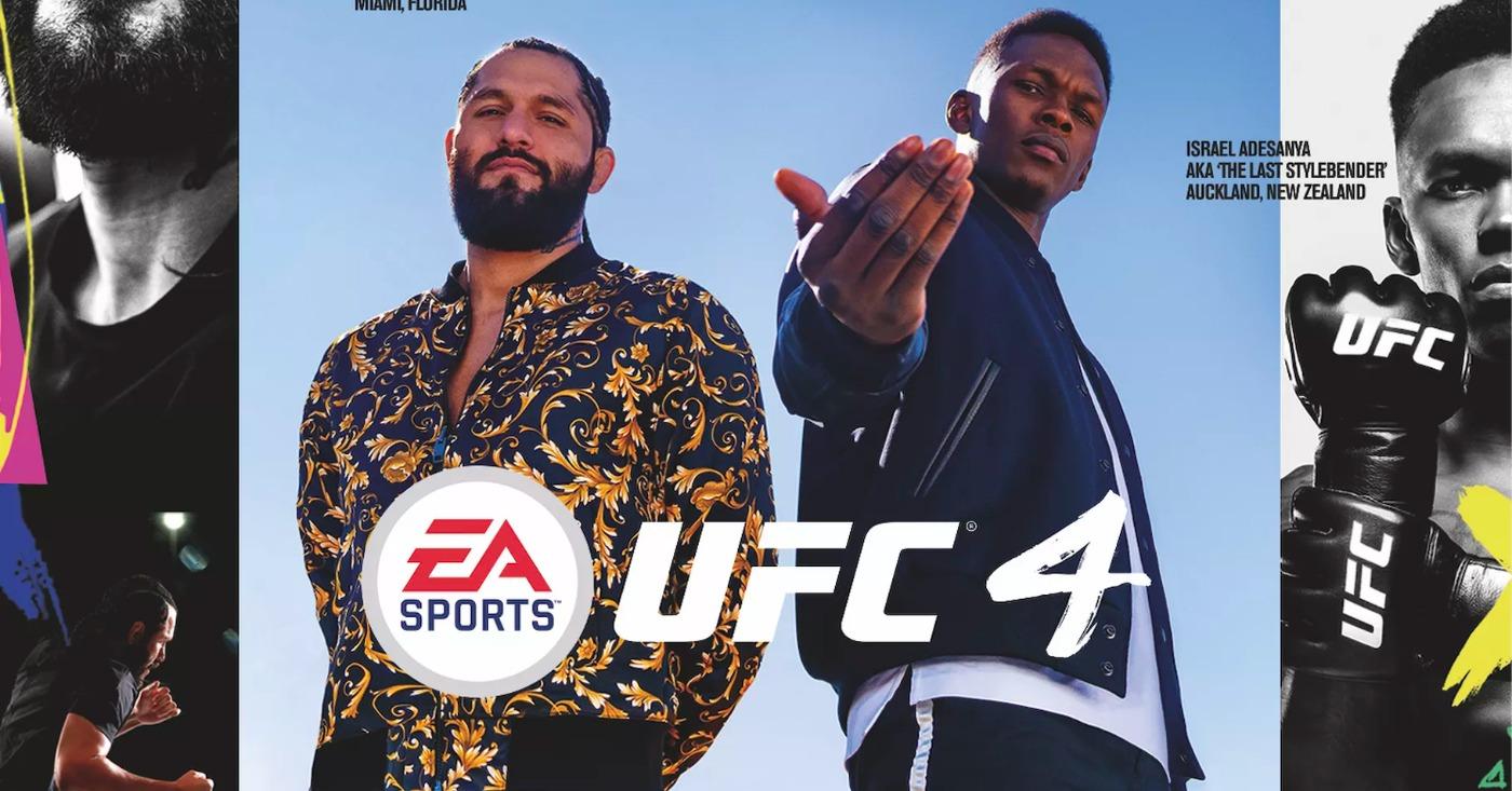 UFC 4 Trailer Posted, Jorge Masvidal, Israel Adesanya On Game Cover