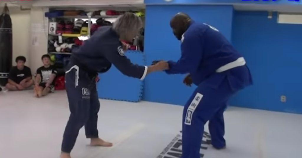 BJJ Black Belt Takes On White Belt More Than Twice His Size In Epic Showdown (VIDEO)