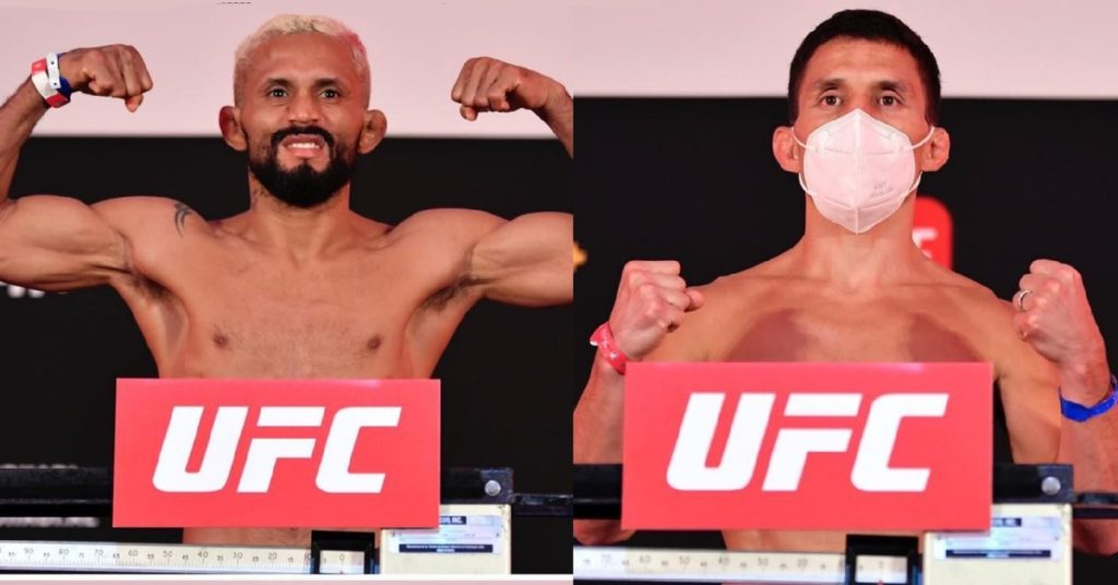 UFC on ESPN+ 30 Weigh In Results: Joseph Benavidez and Deiveson Figueiredo Make Weight For Flyweight Title Fight