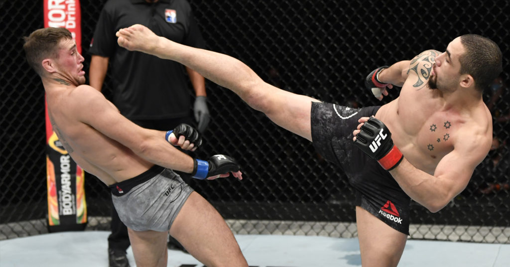 UFC On ESPN 14 Results: Robert Whittaker Beats Darren Till Via UD In a Back And Forth Fight (Highlights)