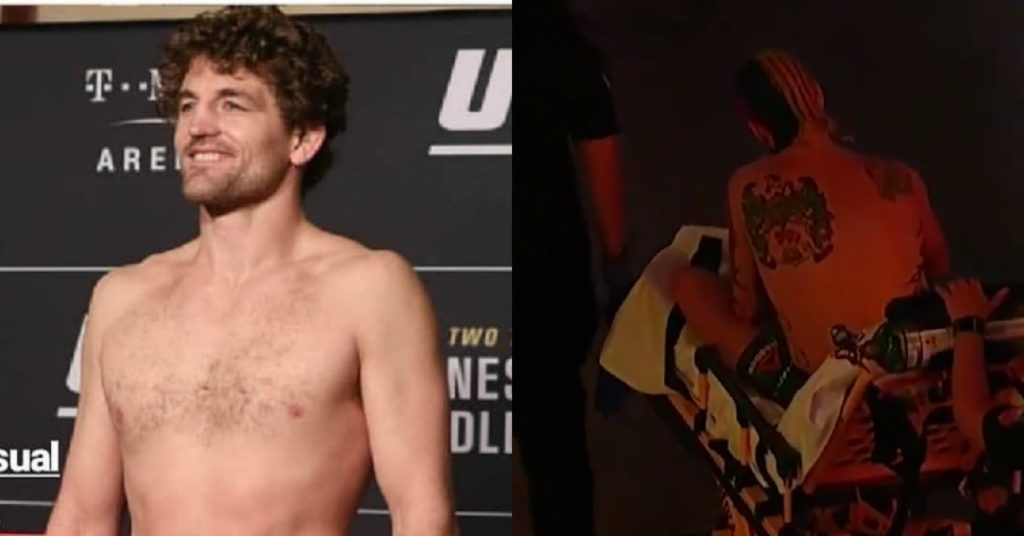 Ben Askren Tells Sean O'Malley To 'Grow Up' After Leaving UFC 252 On A Stretcher