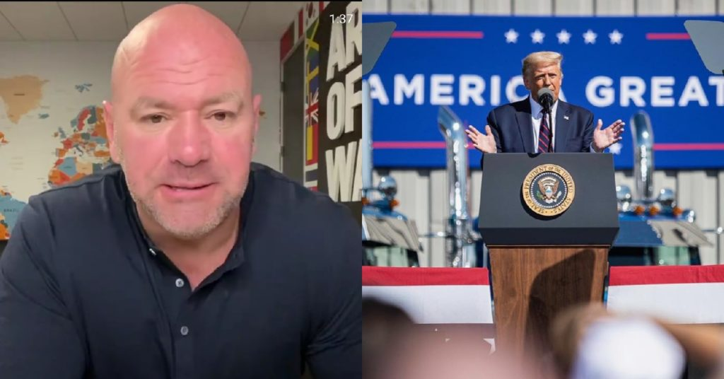 Dana White Unfazed By Critics Of RNC Appearance: 'Everybody Knows What I'm About'