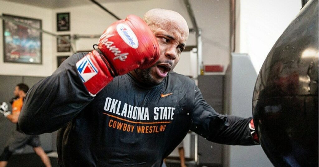 Daniel Cormier Has Been Living In A Bubble Ahead Of UFC 252 To Protect Pregnant Wife