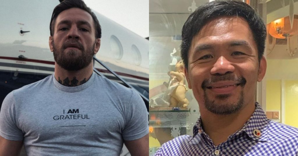 Conor McGregor Hints At Boxing Manny Pacquiao Next