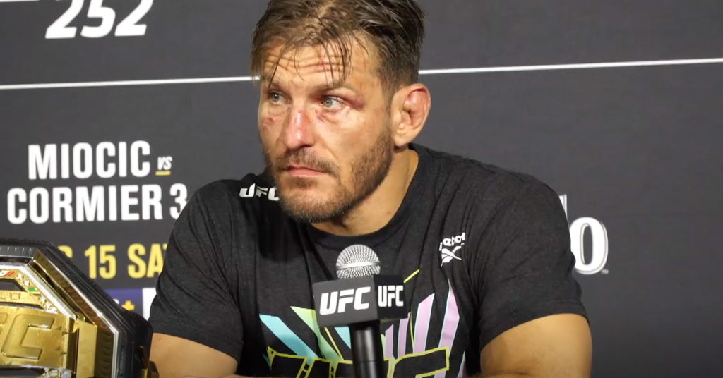 Stipe Miocic Opens To 'Fight Anyone' After Winning Daniel Cormier Trilogy At UFC 252