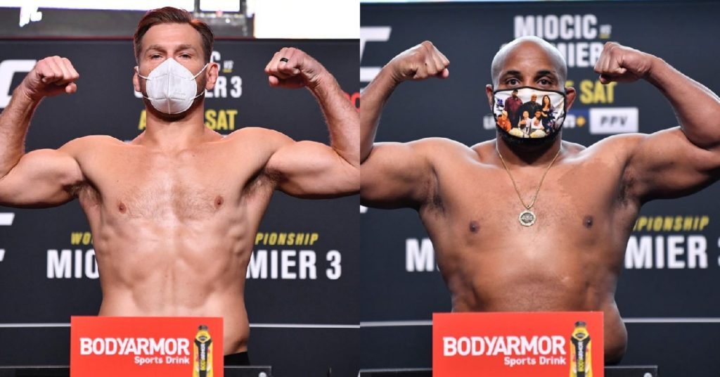 UFC 252 Weigh In Results: Stipe Miocic Daniel Cormier Trilogy Set, Sean O'Malley Also Makes Weight