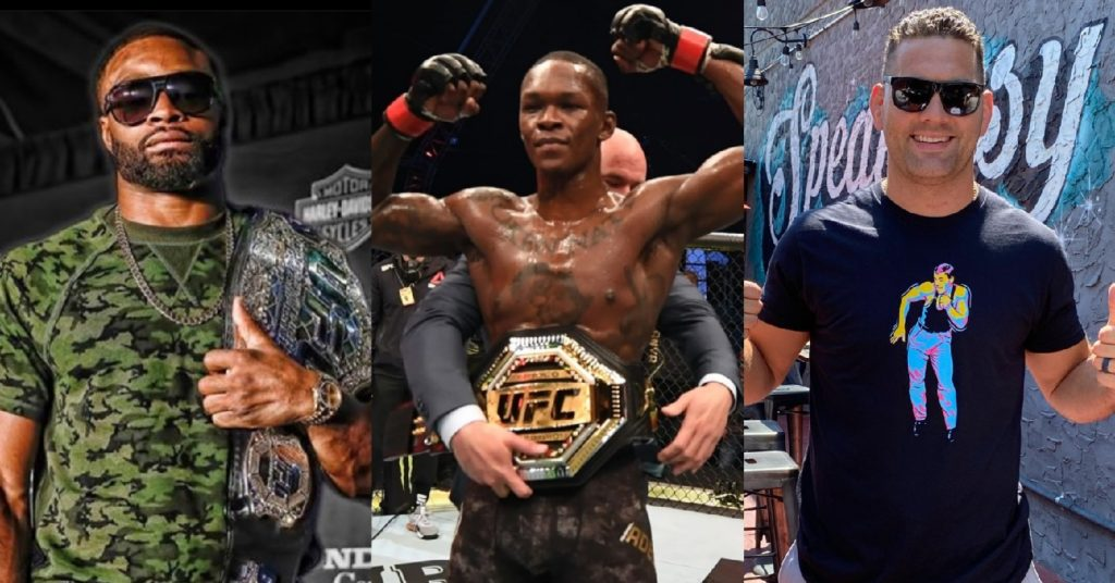 Chael Sonnen: Israel Adesanya's Biggest Threats Are Chris Weidman and Tyron Woodley