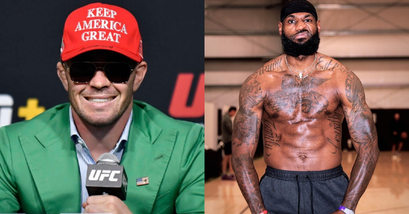LeBron James addresses haters after Colby Covington callout