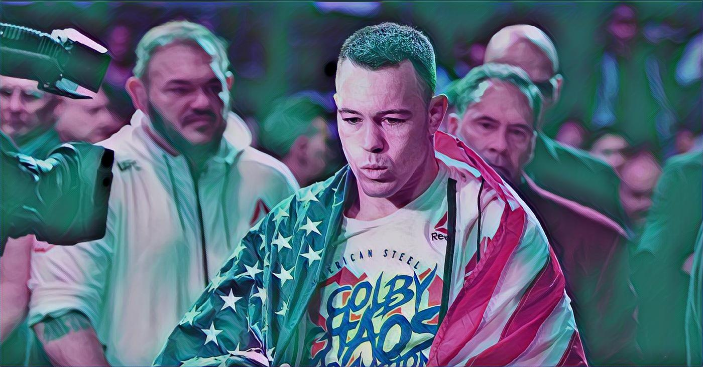 Reebok, Other UFC Sponsors Issue Statement Condemning Colby Covington BLM Comments