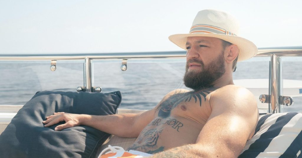 Conor McGregor Gets Visited By USADA On His Yacht