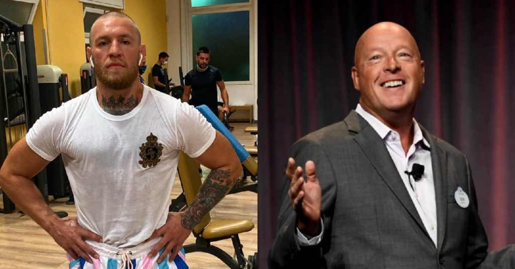 Conor McGregor Sends Message To Disney CEO To Get A Fight