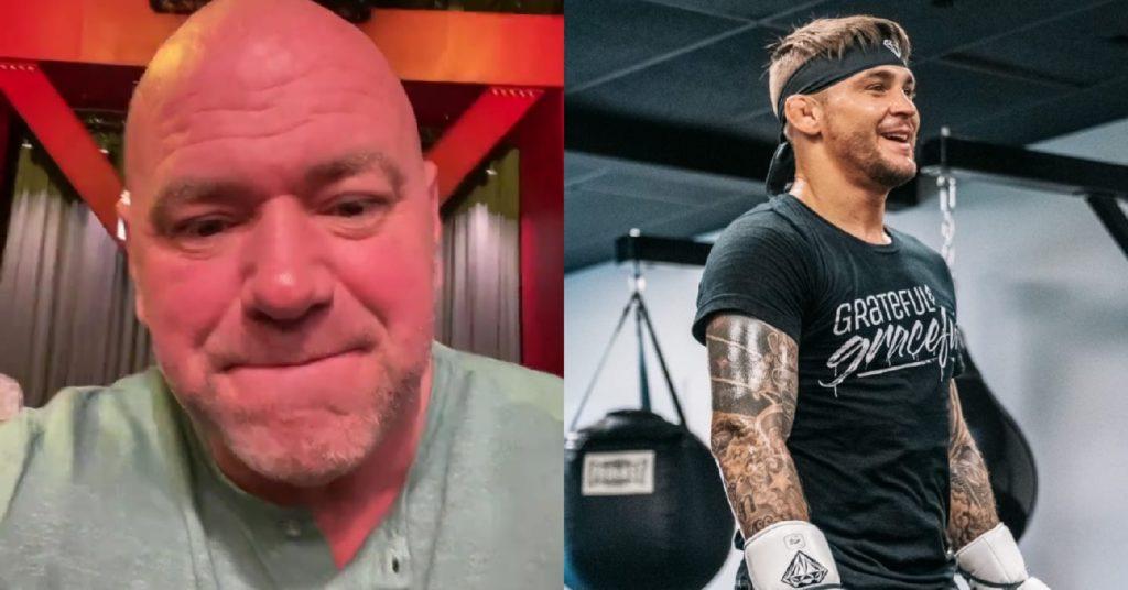 Dana White Says Dustin Poirier 'Didn't Want' Tony Ferguson Fight, Poirier Fires Back