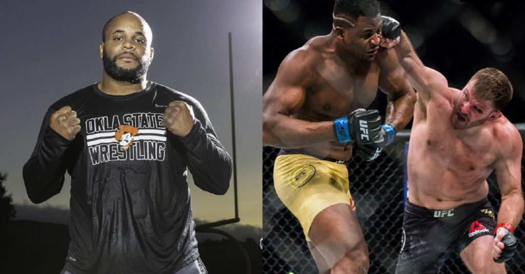 Daniel Cormier Picks Francis Ngannou To KO Stipe Miocic In Potential Rematch