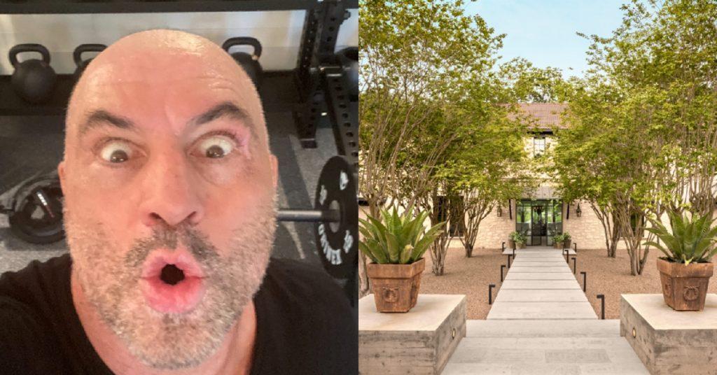 Joe Rogan Buys $14.4 Million Mansion In Austin, Texas (PHOTOS)
