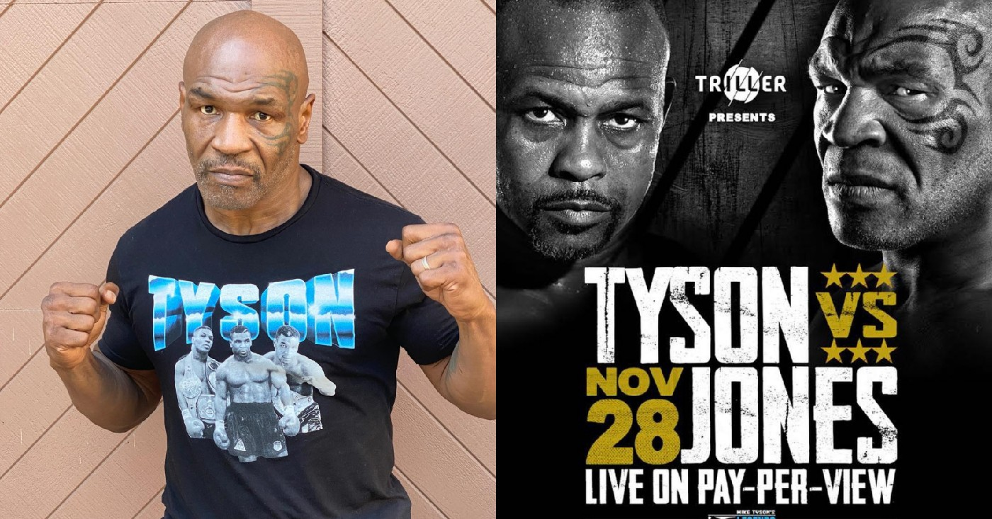 Mike Tyson Tells Joe Rogan His Reasons For Boxing Comeback