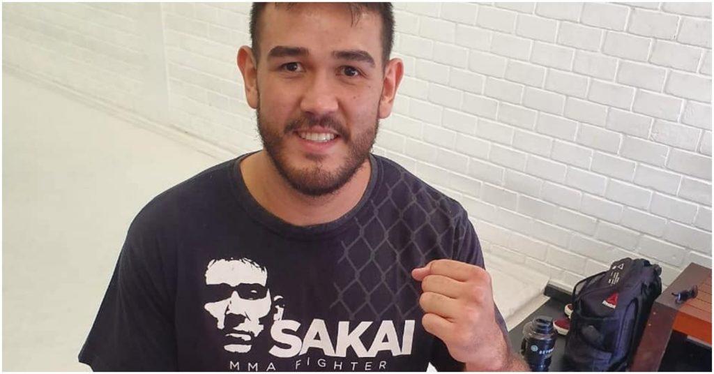 Augusto Sakai Reveals Broken Rib Injury Sustained During UFC Vegas 9 Against Alistair Overeem