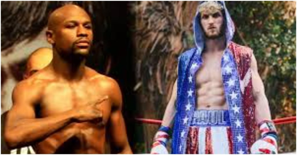 Floyd Mayweather Jr Rumored to Face Logan Paul in Exhibition Boxing Match