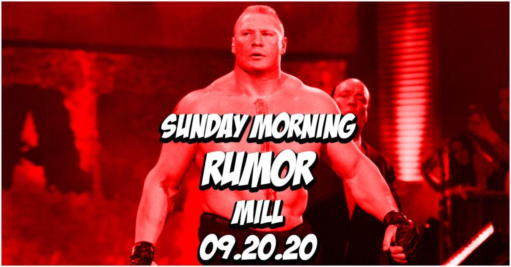 Brock Lesnar Update, Next for John Dodson, & More on the Sunday Morning Rumor Mill