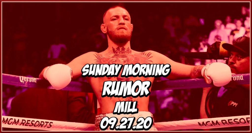 Khamzat's Mystery Opponent, McGregor vs Pacquiao, & More on the Sunday Morning Rumor Mill