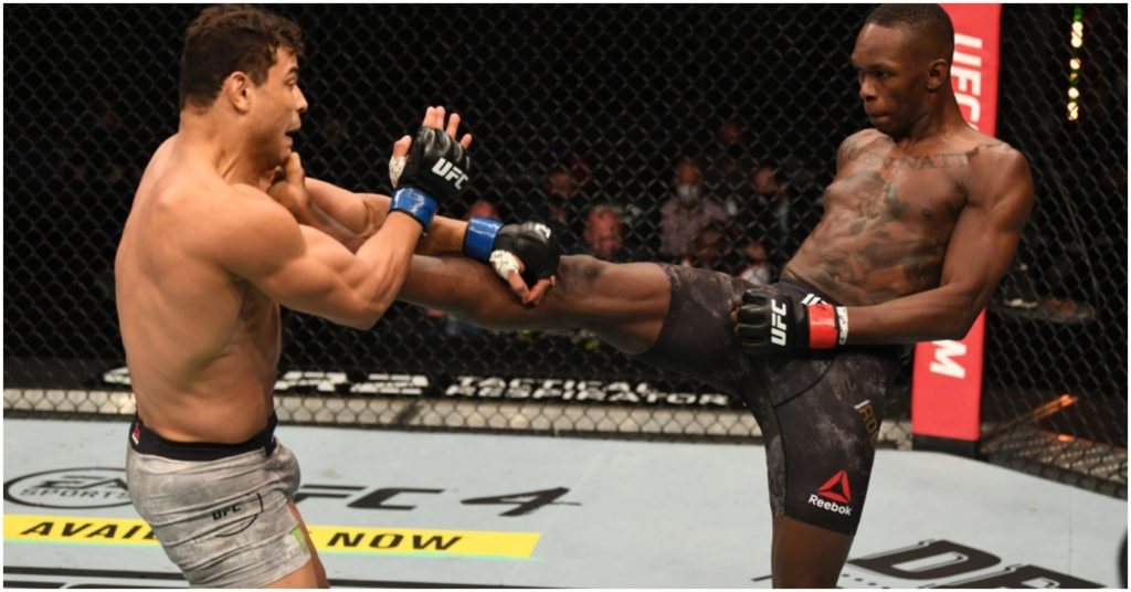 Paulo Costa Wants Rematch Against Israel Adesanya After Being Humped