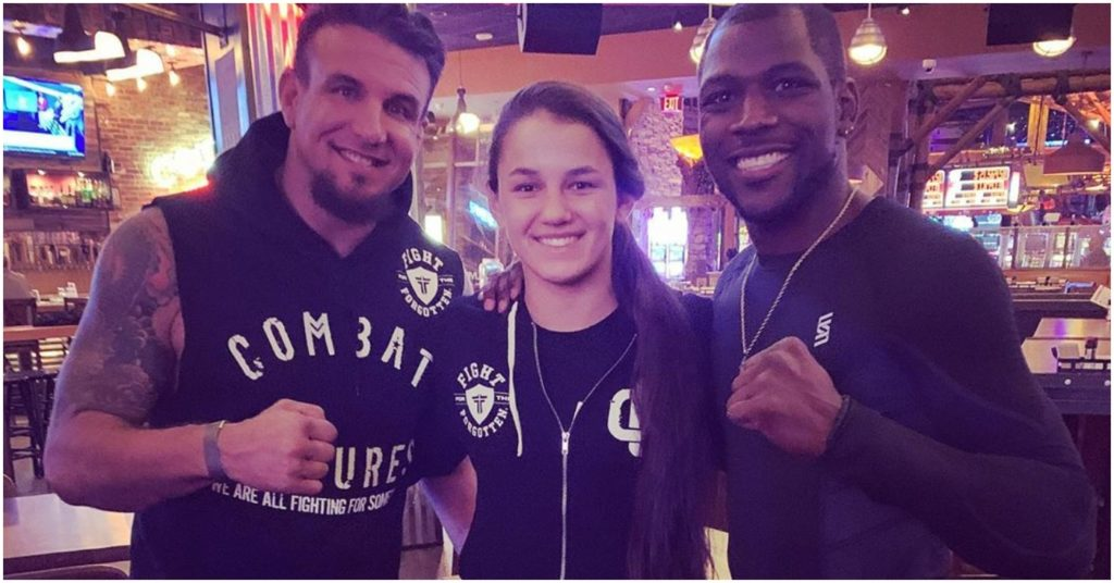 Frank Mir's Daughter, Bella Mir, Signs First Pro MMA Contract at Age 17