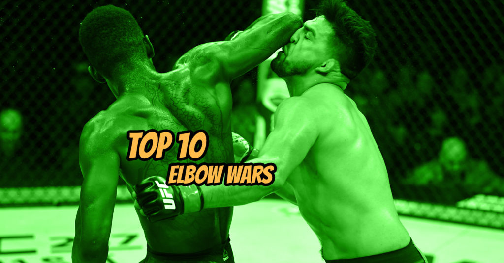 The Best Elbow Wars and KO's in MMA and Muay Thai