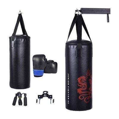 Gymax Boxing Bag Set